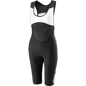 Sportive women's bib shorts