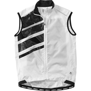 Sportive men's race shell gilet