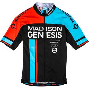 RoadRace Premio men's short sleeve jersey, Madison Genesis Team 2016