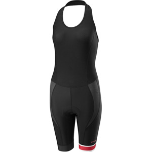 Sportive Race halter neck women's bib shorts