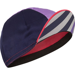 Sportive poly cotton cap, block stripe
