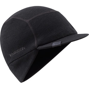 Isoler Merino winter cap, black large / X-large