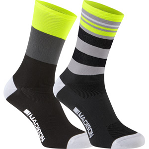 Sportive men's long sock twin pack