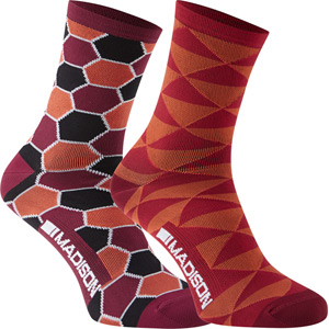 Sportive Race women's long sock twin pack
