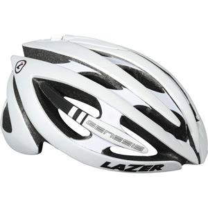 Genesis matt white medium helmet