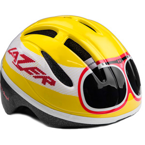 Bob goggle yellow / red uni-size infant helmet