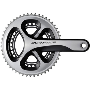 FC-9000 Dura-Ace compact chainset - HollowTech II 172.5 mm 50 / 34T