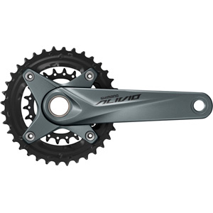 FC-M4050 Alivio 2-piece chainset, for chain line 51.8 mm, 36/22T, silver, 170 mm