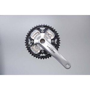 FC-M590 Deore 2 piece design chainset, 9-speed - 44 / 32 / 22T silver 170 mm