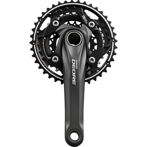 FC-M612 Deore 10-speed chainset - 40/30/22T - 175 mm - silver