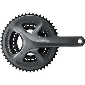 FC-R2030 Claris triple chainset, 8-speed - 50 / 39 / 30T - 170 mm