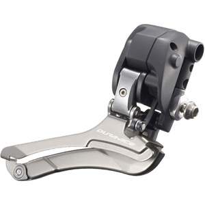 FD-7970 Dura-Ace Di2 10-speed front derailleur, braze on, double