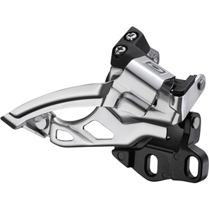 FD-M615-E2 Deore 10-speed double front derailleur, dual-pull, E-type