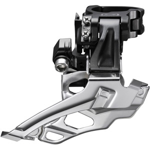 FD-M616 Deore 10-speed double front derailleur, conventional swing, dual-pull