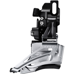 Deore M618-D double front derailleur, direct mount, down swing, dual pull