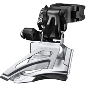 Deore M618-H double front derailleur, high clamp, down swing, top pull
