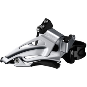 Deore M618-L double front derailleur, low clamp, top swing, down pull