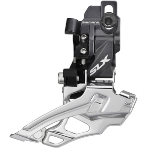 FD-M676 SLX 10-speed double front derailleur, dual-pull, direct-fit