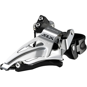 SLX M7025-L double 11-speed front derailleur, low clamp, top swing, down-pull