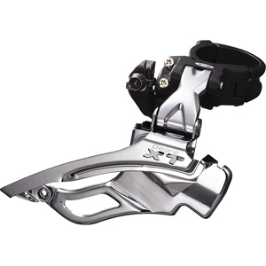 FD-M771 XT front derailleur ATB, dual-pull, conventional-swing multi-fit