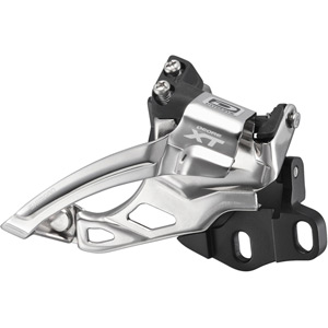 FD-M785 XT 10-speed double front derailleur, E2-type for 38-40T, dual-pull