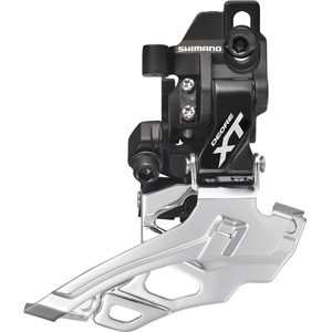 FD-M786 XT 10-speed double front derailleur, direct-fit, dual-pull, black