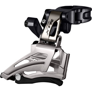 FD-M9025-H XTR double front derailleur, conventional swing, top pull