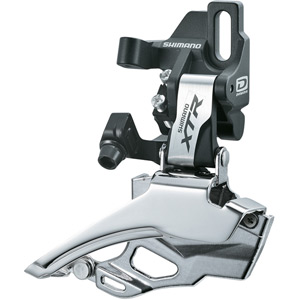 FD-M986 XTR 10-speed double front derailleur, direct-fit, dual-pull