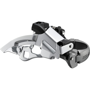 FD-T670 LX front derailleur, top-swing, dual-pull and multi fit, 66-69 deg