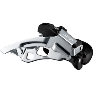 FD-T8000-H XT triple front derailleur, 10-speed, top swing, 63-66 deg