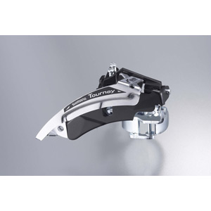 FD-TX51 hybrid front derailleur, top swing, dual-pull and multi fit for 48T
