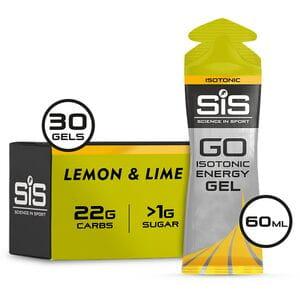 GO Isotonic Gel lemon and lime 60 ml tube - box of 30