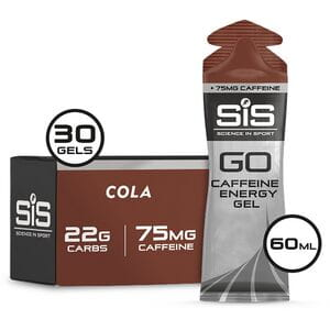 GO plus Caffeine Gel cola 60 ml tube - box of 30