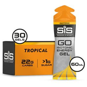 GO Isotonic Gel tropical 60 ml tube - box of 30