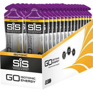 GO Isotonic Gel blackcurrant 60 ml tube - box of 30