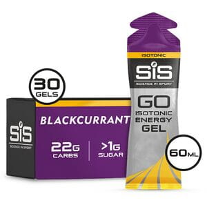 Gel multipack - 4 boxes x 6 gels - Blackcurrant