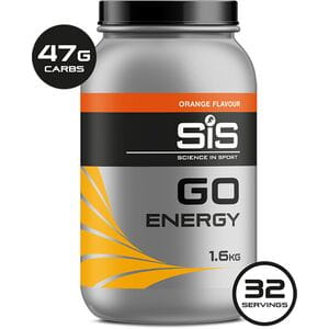 GO ENERGY drink powder orange 1.6 kg tub