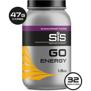 GO ENERGY drink powder blackcurrant 1.6 kg tub