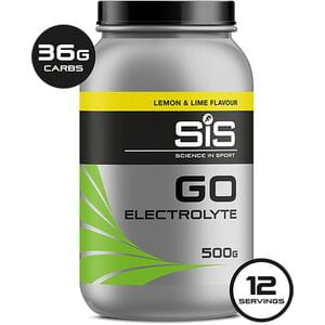 Go Electrolyte drink powder lemon and lime 500 g tub