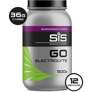 Go Electrolyte drink powder blackcurrant 500 g tub