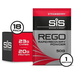 REGO Rapid Recovery drink powder strawberry 50 g sachet - box of 18