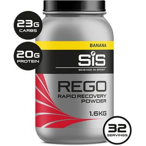 REGO Rapid Recovery drink powder banana 1.6 kg tub
