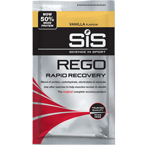 REGO Rapid Recovery drink powder vanilla 50 g sachet - box of 18