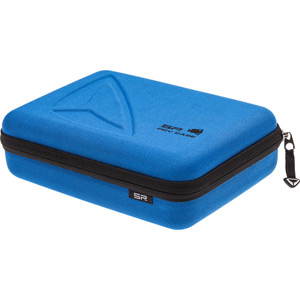 SP Storage Case for Action camera cameras and accessories - blue