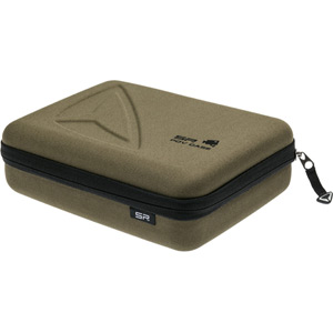 SP Storage Case for Action camera cameras and accessories - olive