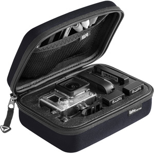 SP Storage Case Small for Action camera cameras and accessories - black