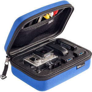 SP Storage Case Small for Action camera cameras and accessories - blue