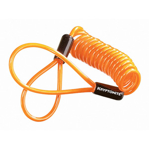 Kryptonite Disc Lock Reminder Cable orange