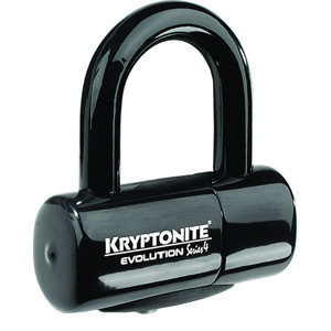 Evolution Series 4 disc lock - black