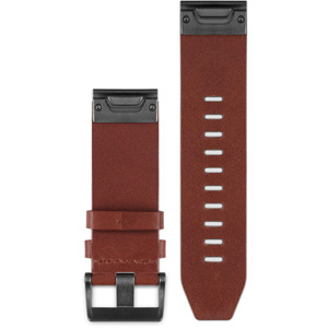 Fenix 5 - quickfit 22 watch band - brown leather